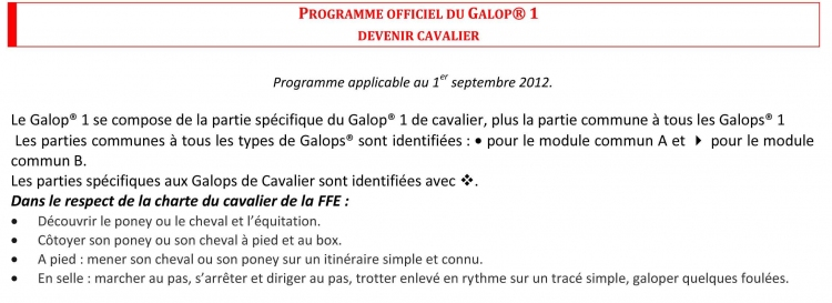 Galop 1 galop equitation cheval Galopsgalop 1 equitation cheval Galop 1 equitationfrance.fr